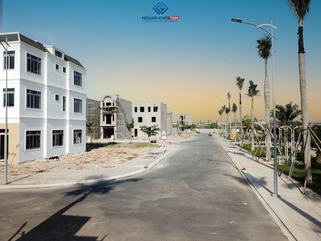 Hình ảnh: tiến độ dự án vietsing phú chánh 01/2021