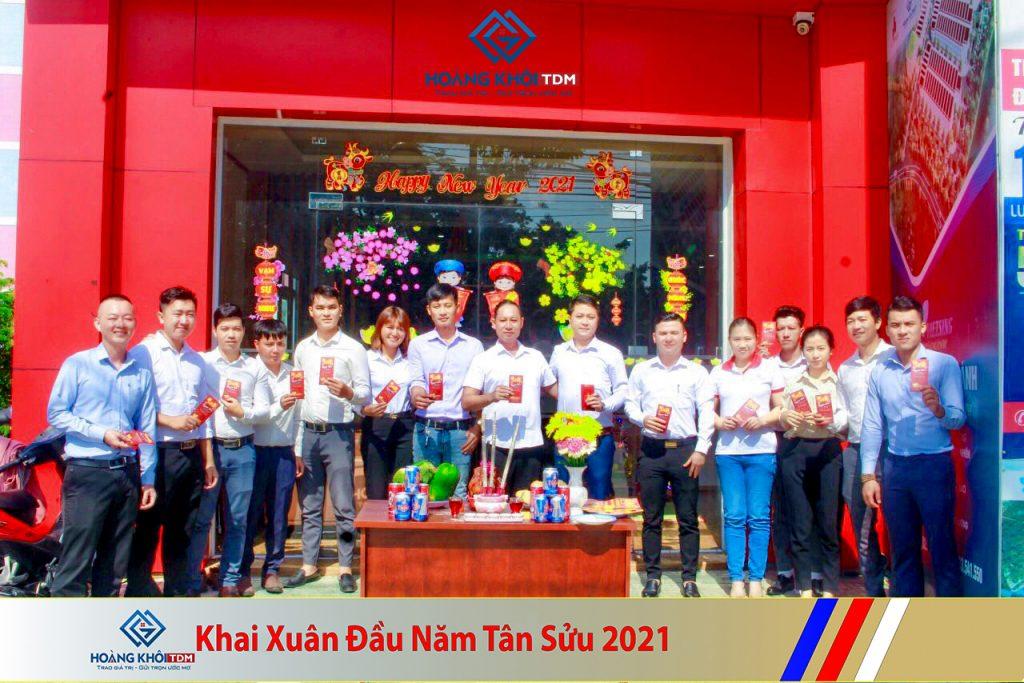 XUÂN ĐẦU NĂM 2021 HOÀNG KHÔI GROUP & HOÀNG KHÔI TDM