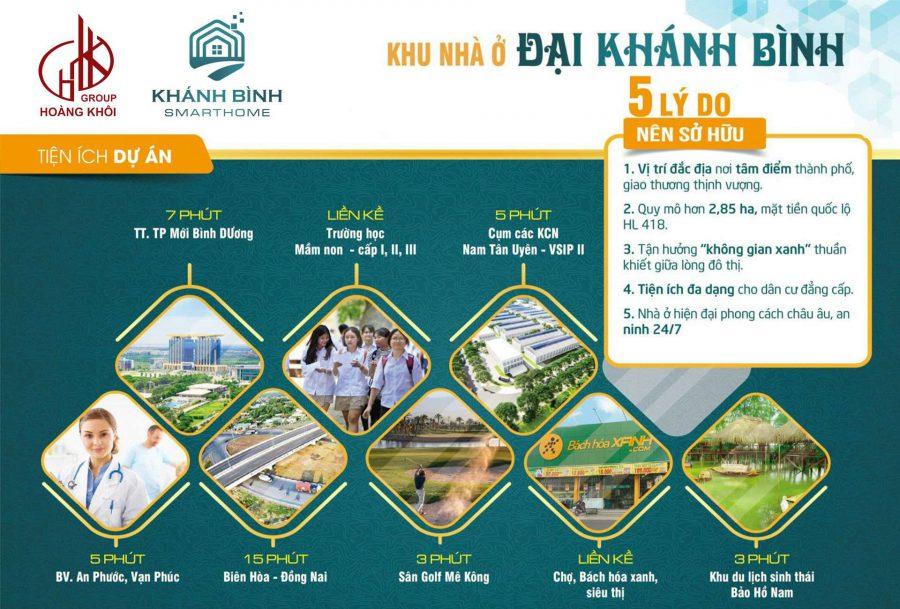 Hình ảnh: Tiện ích xứng tầm của dự án Khu nhà ở Đại Khánh Bình- Khánh Bình Smart Home