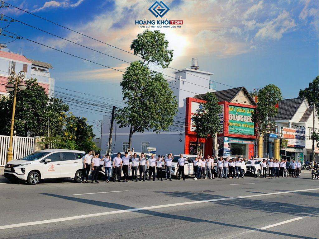 Đội ngũ tập đoàn Hoàng Khôi group