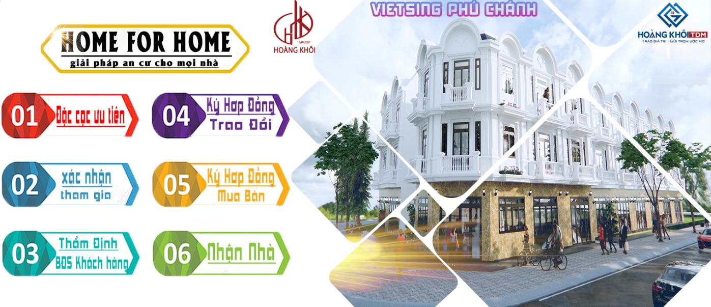 6 bước home for home